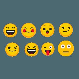 Different Emoji Options