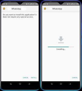 Install Gold WhatsApp Apk